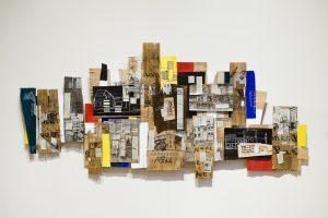 Notions-de-Paysage-assemblage-peinture-dessin-bois-2007